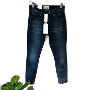 Current/Elliot High Waist Stiletto Blue Jeans 26